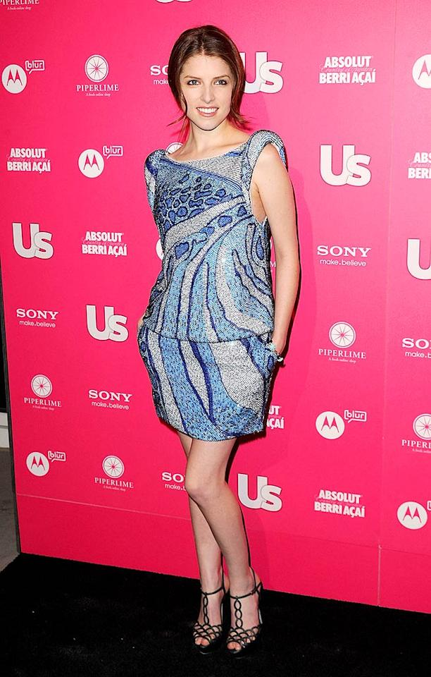 """Oscar nominee Anna Kendrick sparkled in Emilio Pucci. The petite actress claimed she <a href=""""http://www.usmagazine.com/stylebeauty/photos/hot-hollywood-red-carpet-2010-2010234/7902"""" target=""""new"""">hasn't been to the gym in months</a>! Jason Merritt/<a href=""""http://www.gettyimages.com/"""" target=""""new"""">GettyImages.com</a> - April 22, 2010"""