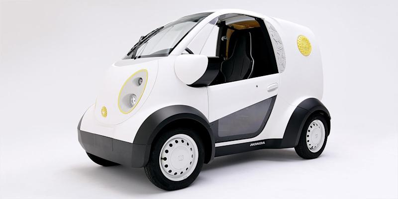 Honda 3D prints a tiny electric van for a critical mission: delivering cookies