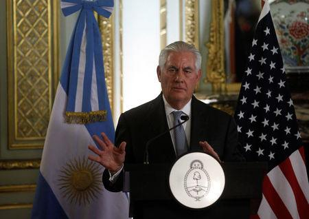 Considers Venezuela oil sale restrictions, sanctions, says US Secretary of State