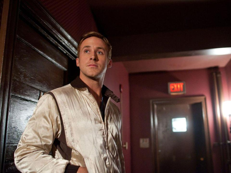 <p>Ryan Gosling's character in this brutally bloody 2011 thriller doesn't even get a name, but he does get a hammer (and an amazing scorpion racing jacket), and that's really all he needs to do his work.</p>