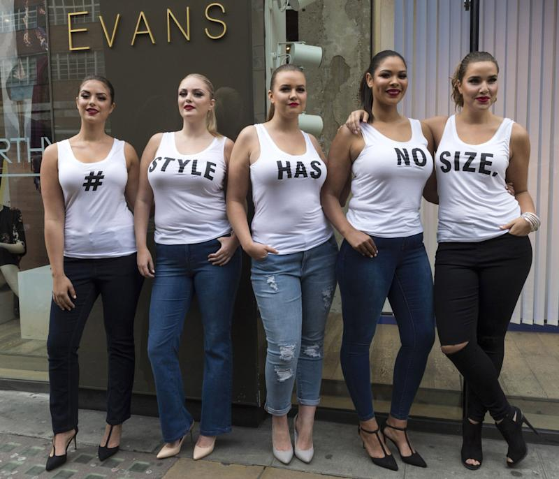 0b184d20e81 Plus-Size Fashion Week  Beautiful Models Of All Shapes And Sizes ...
