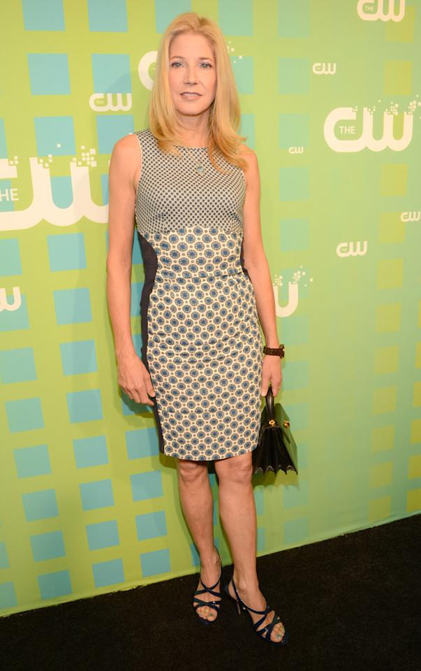 "Candace Bushnell (""The Carrie Diaries"") attends The CW's 2012 Upfronts on May 17, 2012 in New York City."