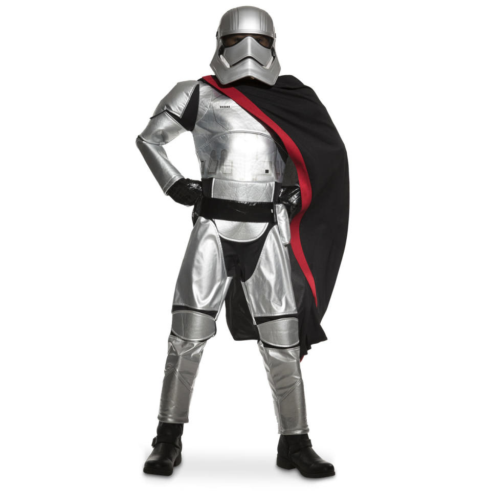 <p>We bet the chrome-domed First Order leader will be one of the hottest costumes this Halloween. </p>