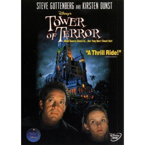 """<p><a class=""""link rapid-noclick-resp"""" href=""""https://www.amazon.com/Tower-Terror-Steve-Guttenberg/dp/B00008L3SY/?tag=syn-yahoo-20&ascsubtag=%5Bartid%7C10070.g.3104%5Bsrc%7Cyahoo-us"""" rel=""""nofollow noopener"""" target=""""_blank"""" data-ylk=""""slk:STREAM ON AMAZON"""">STREAM ON AMAZON</a></p><p>Journalist Buzzy Crocker investigates the unexplained disappearance of five partygoers who vanished inside the elevator of the Hollywood Tower Hotel. For decades, their ghosts have remained trapped inside the run-down old building.</p>"""