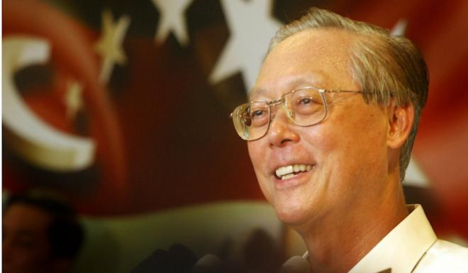 Goh Chok Tong, former prime minister of Singapore, after the city-state's Independence Day celebrations on August 9, 2004. Photo: AP