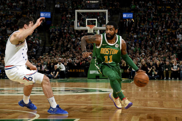 Kyrie Irving was a Christmas Day hero for the Boston Celtics.