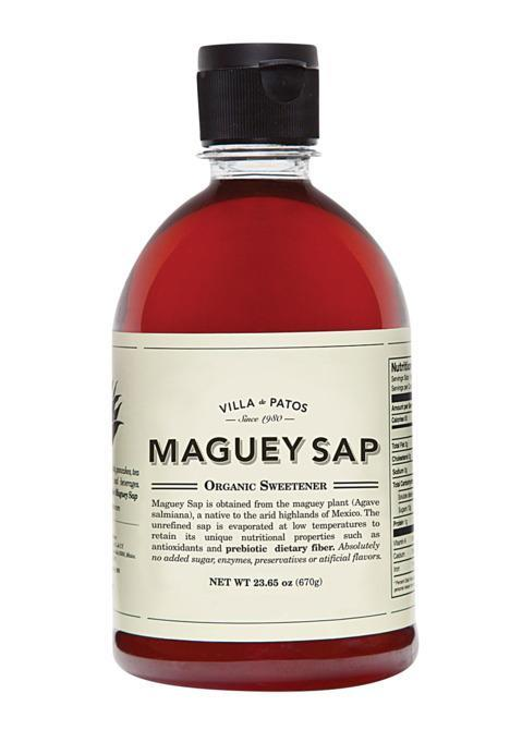 """<p> <br></p><p><b>Wellness Sap</b></p><p>Harvested from maguey plants in Mexico, Villa De Patos's sap is a healthier alternative to maple syrup. <i><a href=""""http://miscelaneany.com/collections/food/products/maguey-sap-villa-de-patos"""" rel=""""nofollow noopener"""" target=""""_blank"""" data-ylk=""""slk:$8, Miscelanea"""" class=""""link rapid-noclick-resp"""">$8, Miscelanea</a></i></p><p><b><br></b></p><p><b><br></b></p>"""
