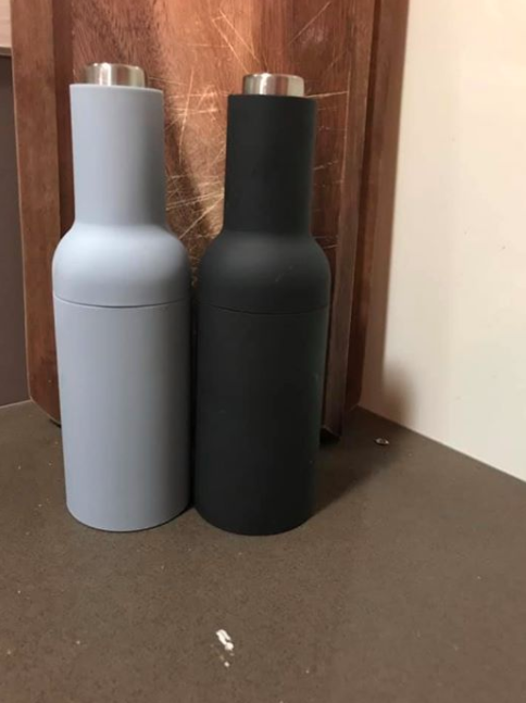 Aldi salt and pepper shakers