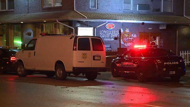 PHOTO: The Cleveland location where the shootings took place. (WEWS)