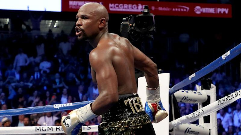 Mayweather ready to fight again, but in MMA bout