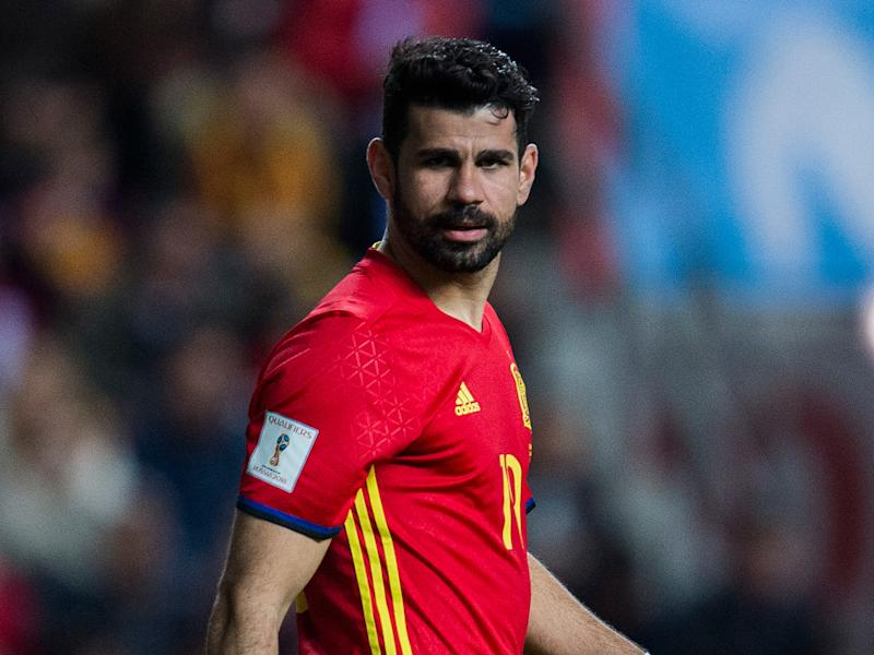 Diego Costa's condition will continue to be monitored by Spain's medical staff: Getty