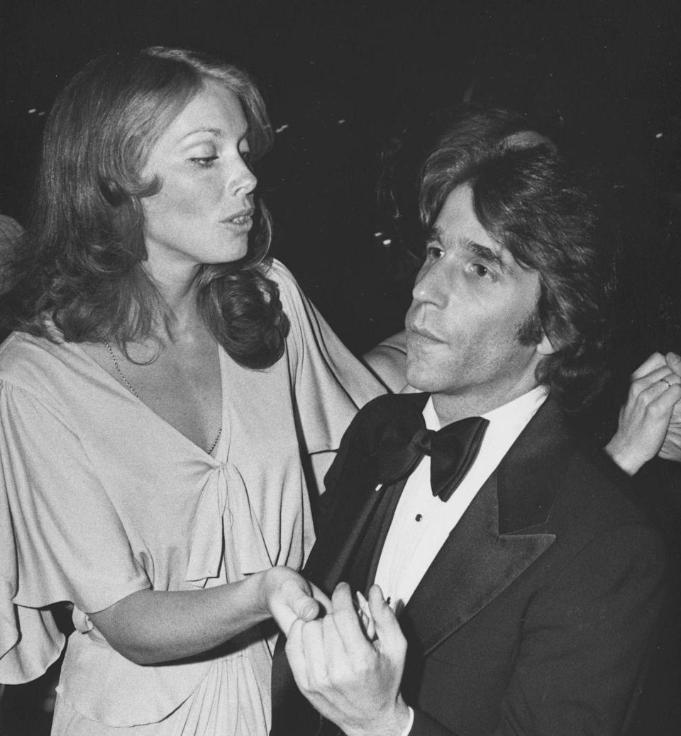"""<p>Henry Winkler and Jaime Lyn Bauer attending the premiere party for """"Family Plot"""" on March 21, 1976 at the Century Plaza Hotel in Century City, California.</p>"""