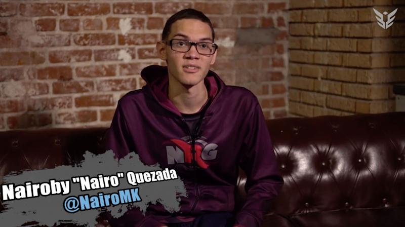 Nairo stars in the latest Yahoo Esports feature.