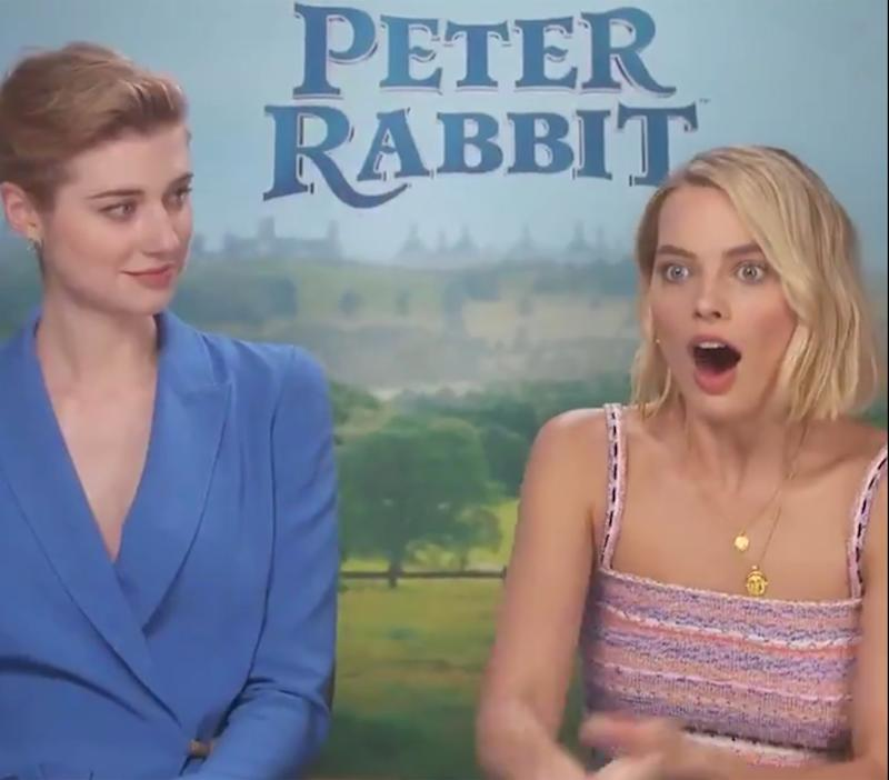 You Have to See Margot Robbie's Hilarious Reaction When She is Surprised By Her (Hot!) Brother