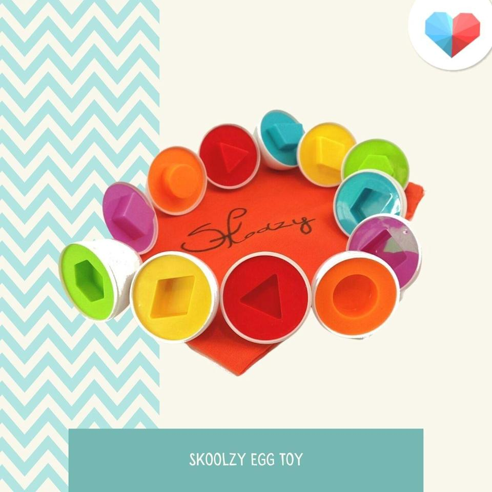 Skoolzy Egg Toy - Best STEM Toy for Coordination and Problem-solving