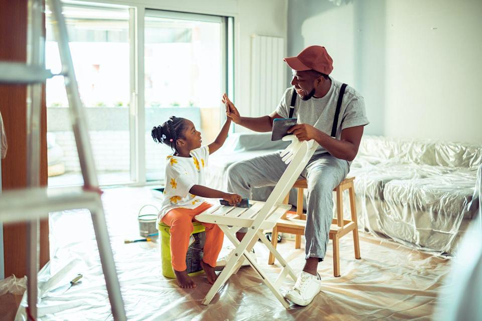 <p>There's bound to be an at-home fixer-upper project that's been ignored or avoided over the past year. Well, now is the time to finish it and give mom yet another break!</p><p>Whether it's hanging a picture frame, fixing a wonky cabinet drawer, or re-painting a chair, showing mom that you're here to make things easier for her while she relaxes is the gift that truly keeps on giving. </p>