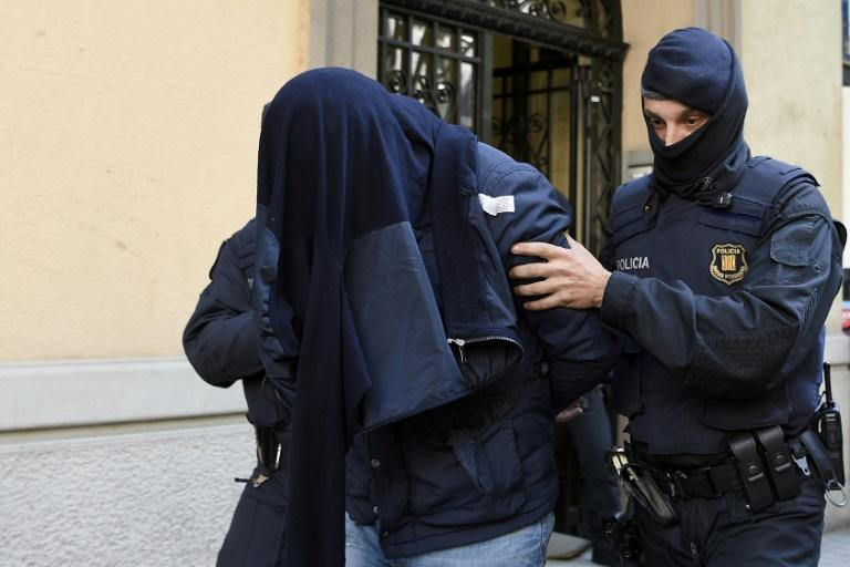 Two men arrested in Spain during a joint investigation between Spanish and Belgian police, admitted being at Brussels airport at the time of a deadly 2016 attack