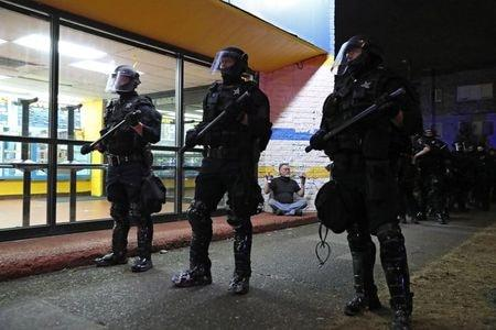 Portland Police Make 'multiple Arrests' As U.S. City Nears 100 Days Of Protests