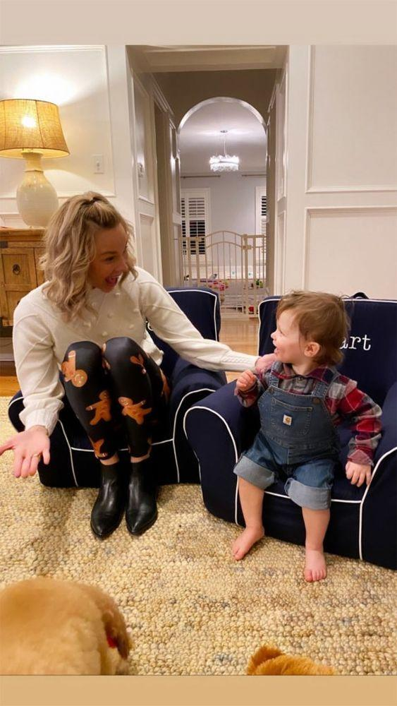 Meghan King Edmonds and son Hart | Meghan King Edmonds/ Instagram