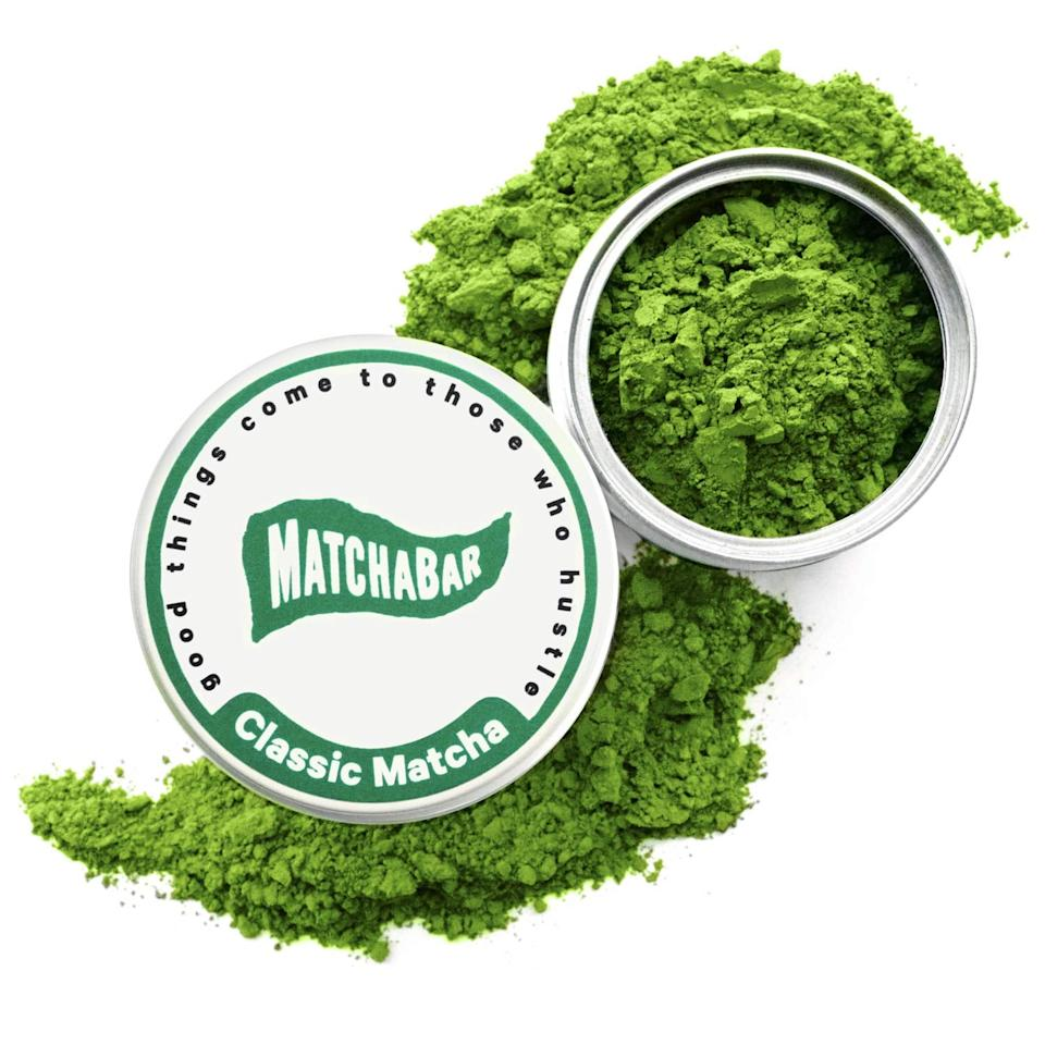 """<p>My day starts when I take my first sip of iced matcha. This <product href=""""https://www.amazon.com/MatchaBar-Premium-Ceremonial-Matcha-Powder/dp/B01945P2KY/ref=sr_1_4?keywords=matchabar&amp;qid=1565041579&amp;s=gateway&amp;sr=8-4&amp;th=1"""" target=""""_blank"""" class=""""ga-track"""" data-ga-category=""""internal click"""" data-ga-label=""""https://www.amazon.com/MatchaBar-Premium-Ceremonial-Matcha-Powder/dp/B01945P2KY/ref=sr_1_4?keywords=matchabar&amp;qid=1565041579&amp;s=gateway&amp;sr=8-4&amp;th=1"""" data-ga-action=""""body text link"""">MatchaBar Matcha Green Tea Powder</product> ($25) is really high quality, and when it comes to matcha, taste is so important.</p>"""