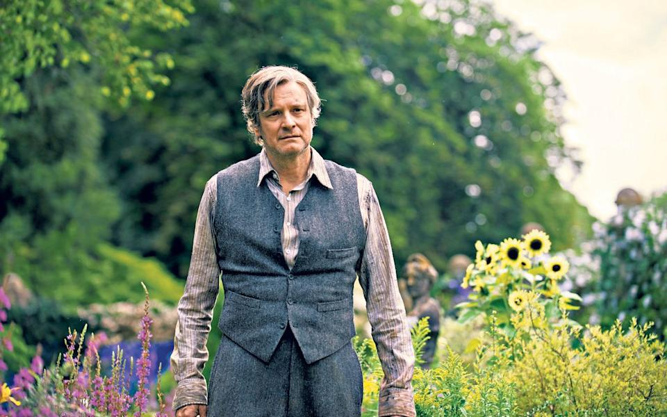 Star of the garden: Colin Firth in the new film adaptation of The Secret Garden  - Getty Images