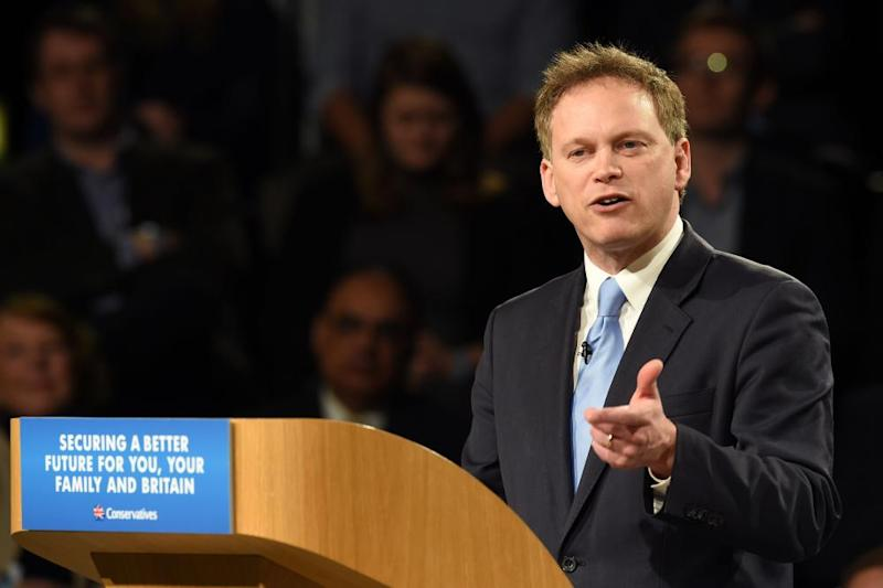 Grant Shapps led a failed attempt to oust the prime minister.