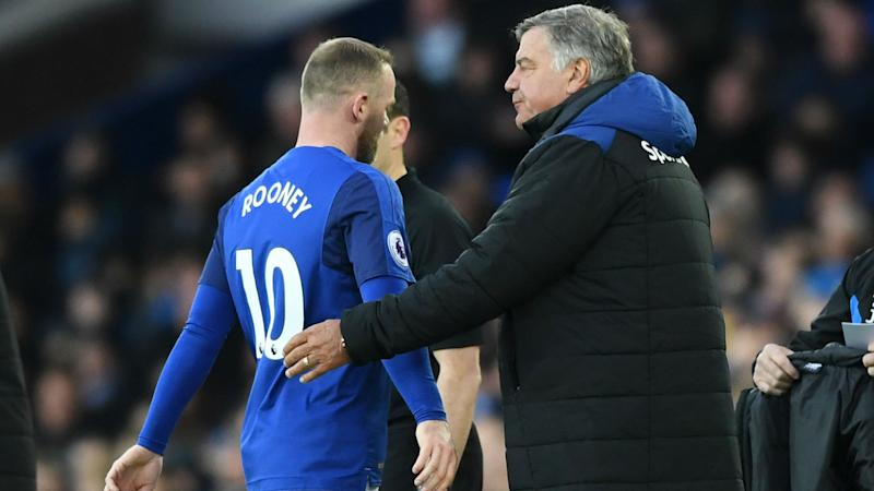 'Rooney struggles against the best opposition' - Everton boss Allardyce questions midfield ability