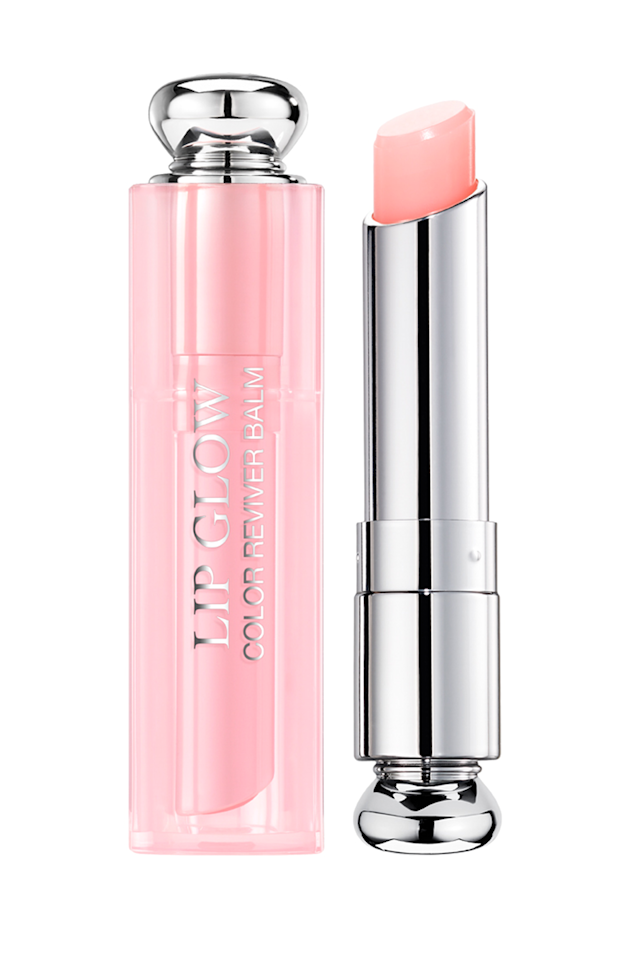 """<p><em>Addict Lip Glow Color Reviving Lip Balm, $34</em></p><p><a rel=""""nofollow"""" href=""""https://shop.nordstrom.com/s/dior-addict-lip-glow-color-reviving-lip-balm/3032812"""">SHOP IT</a><br></p><p>It's no secret that I'm <a rel=""""nofollow"""" href=""""https://www.marieclaire.com/beauty/a22619517/best-beauty-products-08-03-2018/"""">obsessed with this balm</a>. It's not too shiny or sticky, it doesn't smell like cupcakes and 2003, and it <strong>doesn't give you that gunky white line around your lips after a few hours</strong>. And, most importantly, it leaves your lips with the prettiest glow-I know, I know, but there's no better word for it-that sticks around through lunch (and second lunch). </p>"""