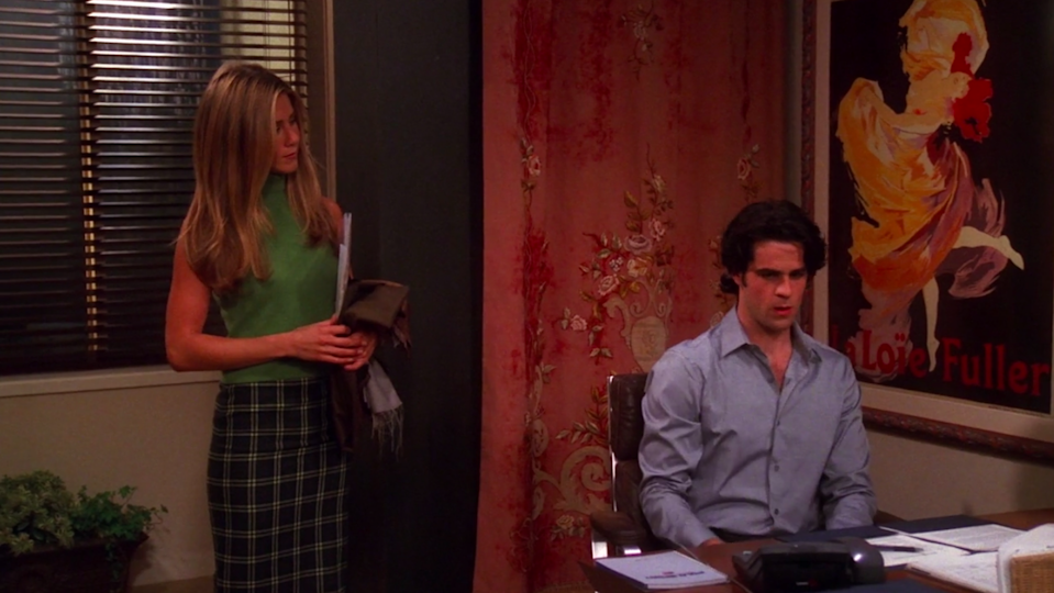"""<div><p>""""The One With Rachel's Assistant"""" (Season 7, Episode 4)</p></div><span> Warner Brothers</span>"""