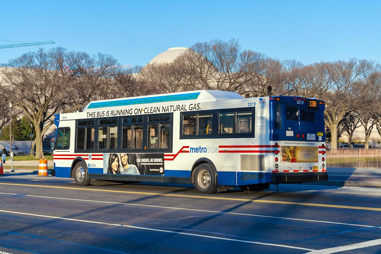 The Washington Metropolitan Area Transit Authority said the religious ad violated its guidelines. (Photo: Getty)