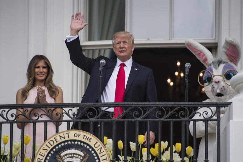 Almost 30000 expected at annual White House Easter Egg Roll