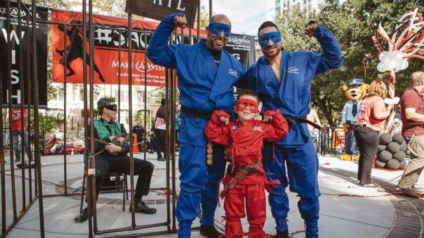 PHOTO: The Make-A-Wish Foundation of Northeastern California and Northern Nevada granted the wish of 5-year-old Bryant Mordinoia, who wanted to become a ninja for a day. (Xsight Photography Michele Flynn)