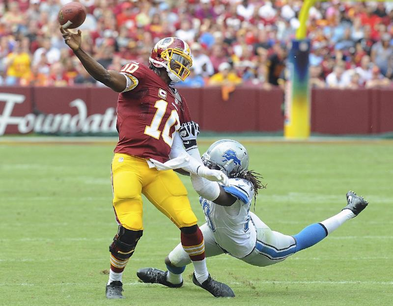 Redskins, 'a lot different' RG3 struggling at 0-3