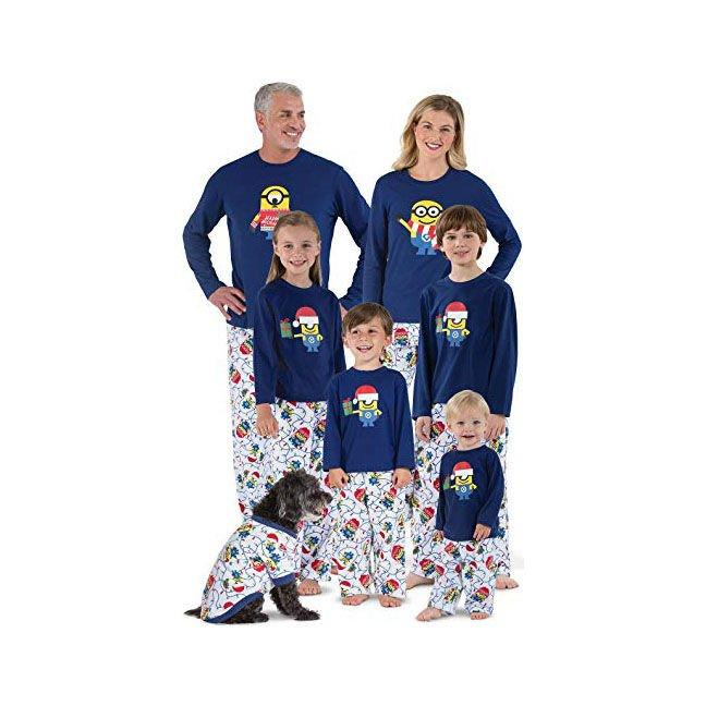 """<p><b>Buy It:</b> from $19.99; <a href=""""https://www.amazon.com/PajamaGram-Officially-Licensed-Holiday-Matching/dp/B06XTWKG1D/ref=sr_1_60?ie=UTF8&camp=1789&creative=9325&linkCode=as2&creativeASIN=B06XTWKG1D&tag=southlivin04-20&ascsubtag=d41d8cd98f00b204e9800998ecf8427e"""" target=""""_blank"""">amazon.com</a></p> <p>Banana! If your kids can't get enough of the Minions, these are the holiday pajamas they need.</p>"""