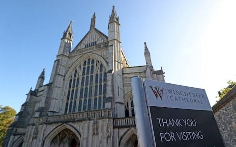 Winchester Cathedral - Credit: Andrew Matthews/PA
