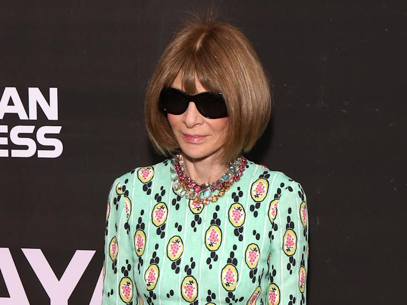 Anna Wintour had to wear hat for 'several months' after hairstyle fail
