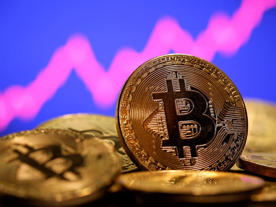 Bitcoin hit a new all-time high on Tuesday, 16 Februaru, 2021 (Reuters)