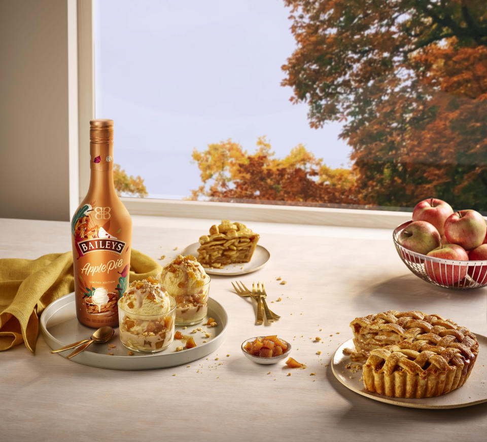 Baileys Introduces New Limited Time Offering Baileys Apple Pie.