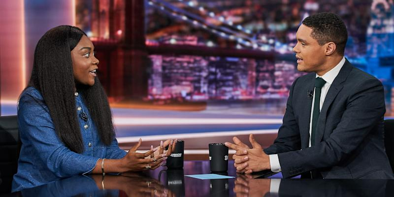 Watch Noname Discuss Her Book Club on The Daily Show