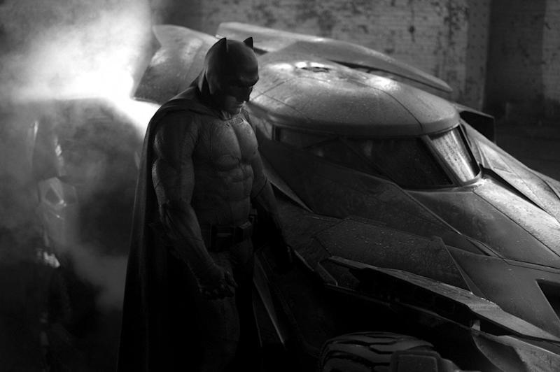 Ben Affleck as Batman in Batman v. Superman (Credit: Warner Bros)
