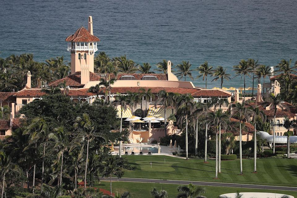<p>Mar-a-Lago is 10 minutes away from Trump Plaza in West Palm Beach, which voted to remove the ex-president's name.</p>