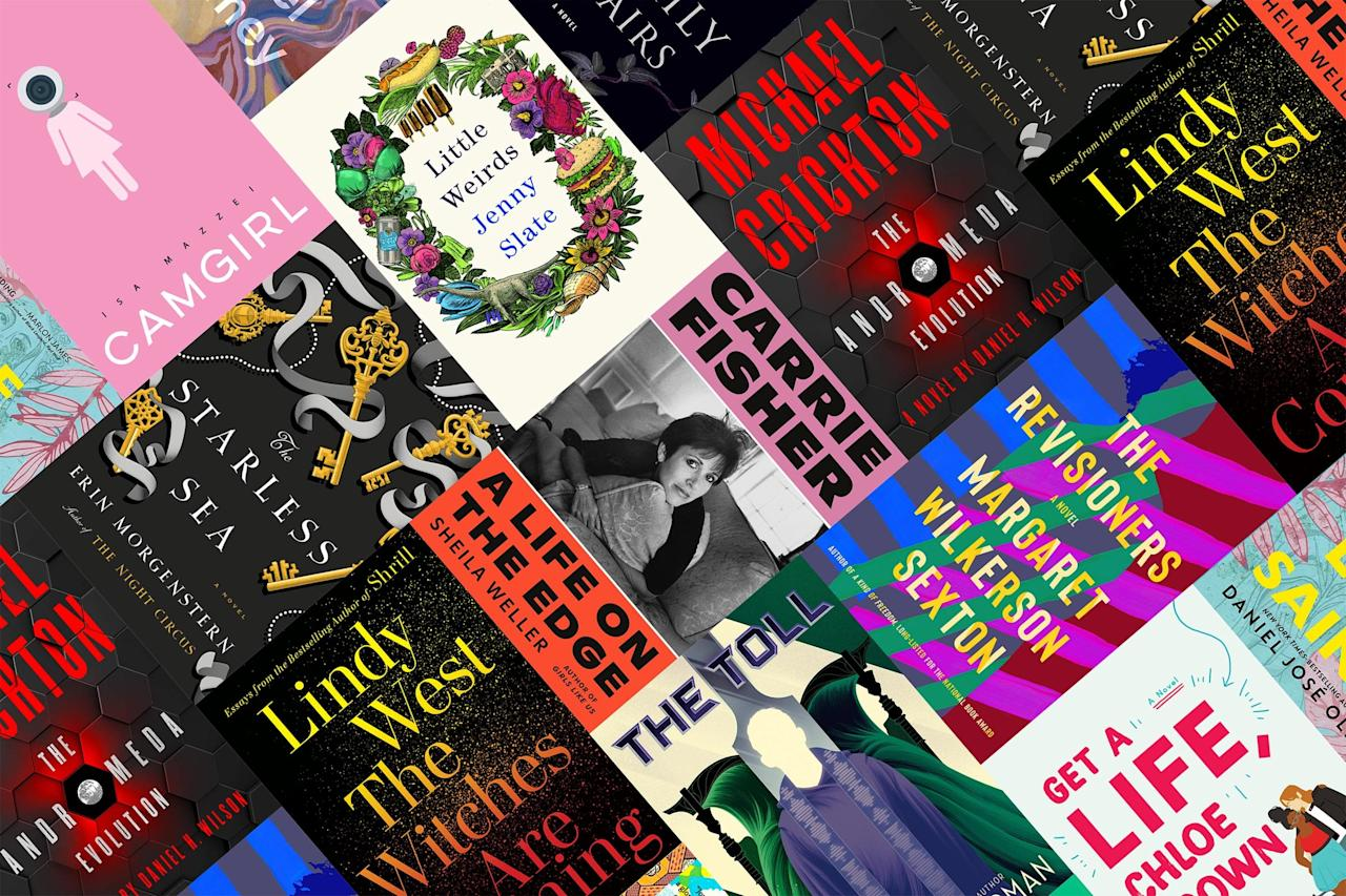 Sure, we've got family sagas of all stripes perfect for Thanksgiving reading. But November's slate of new books doesn't end there; we've got essays and thrillers and a few celeb books you'll want to keep an eye out for.