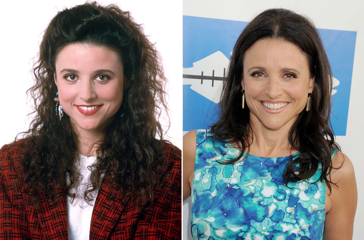 """Veep"" nominee Julia Louis-Dreyfus gave up her ""Seinfeld"" bouffant for a much more flattering 'do."