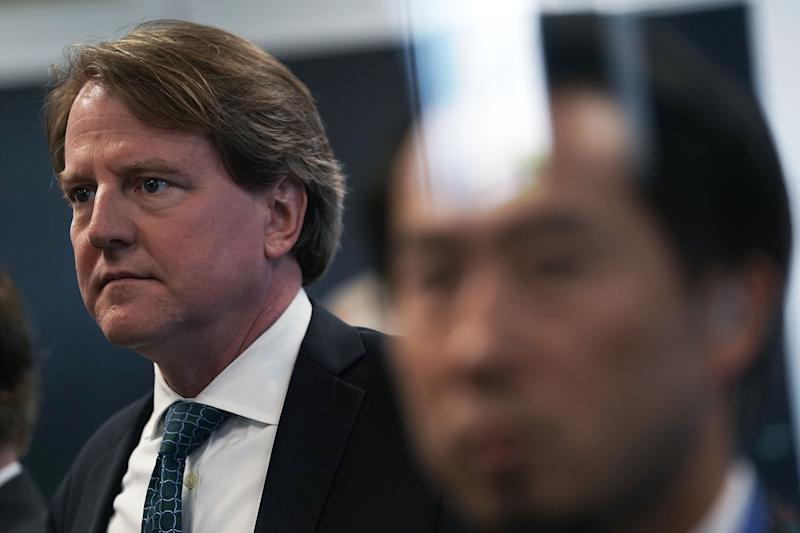 Trump Made 'Epic' Mistake With McGahn, Say WH Insiders