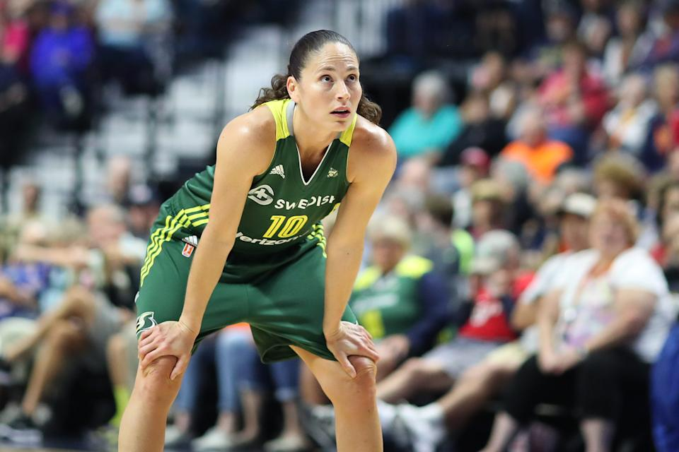 Despite hope that she would return from knee surgery in May, Sue Bird will now officially miss the entire season.