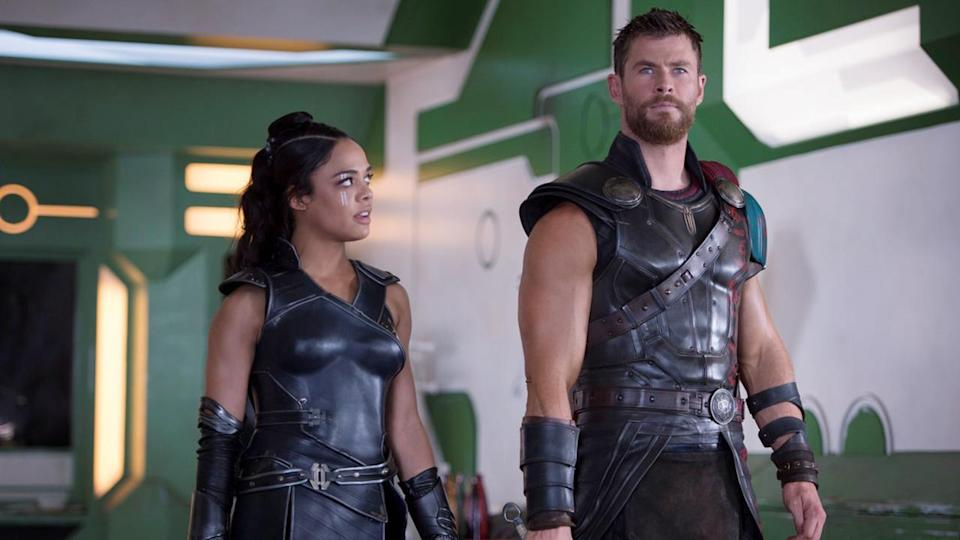 <p> To be the wackiest, most whimsical MCU movie released in 2017 (the same year as Guardians of the Galaxy Vol. 2 and Spider-Man: Homecoming) is impressive. For that movie to be a <em>Thor movie</em>? It's practically god-like. But are we really that surprised when Taiki Waititi is the man behind the camera? The What We Do in the Shadows director does away with all the Shakespearean theatrics and instead goes full retro-futurism for the threequel, with a healthy sprinkling of full-blown surrealism thrown in. The result is a comedy that just happens to be a superhero movie at the same time. Needless to say, it's the freshest MCU flick since that time they introduced a talking tree. Jeff Goldblum's Grandmaster, Waititi's rock warrior Korg, and Bruce Banner/Hulk all have their moments of comedy gold, but Chris Hemsworth's Thor turns out to be the funniest of them all. Who saw that coming? </p>