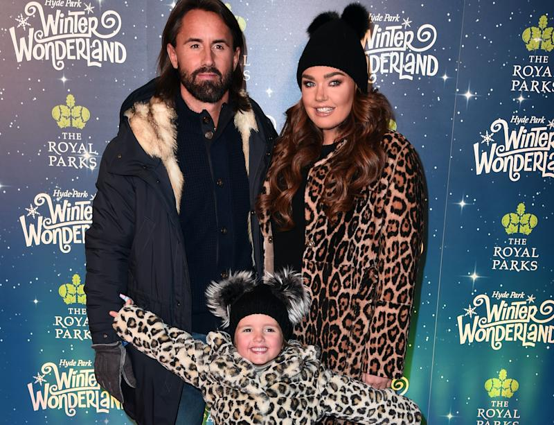 Jay Rutland, Tamara Ecclestone and daughter Sofia are on holiday in Lapland (Credit: Getty Images)