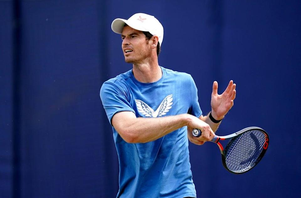 Andy Murray will take on Adrian Mannarino is his first match in Indian Wells (John Walton/PA) (PA Wire)