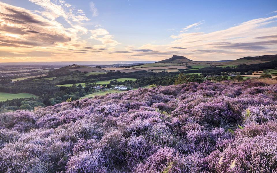 There's something rather romantic about the windswept Yorkshire Moors - Getty