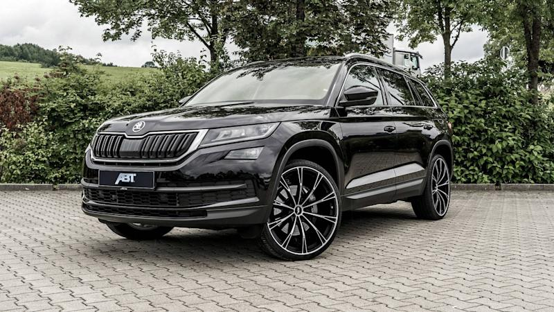 tuner gives skoda kodiaq diesel a sporty rs disposition. Black Bedroom Furniture Sets. Home Design Ideas